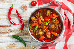 Rabo de toro or oxtail stew Royalty Free Stock Image