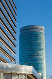 Rabobank headquarters Utrecht during a sunny day Stock Photos