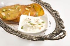 Rabri dolce indiano Immagine Stock Libera da Diritti