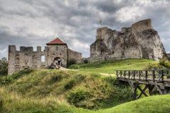 Rabsztyn Castle in Poland Stock Photo