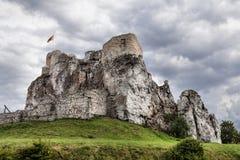 Rabsztyn Castle in Poland Stock Image