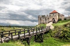 Rabsztyn Castle in Poland Stock Images