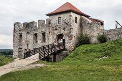 Rabsztyn Castle in Poland Royalty Free Stock Image