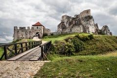 Rabsztyn Castle in Poland Stock Photos