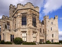Raby Castle. In County Durham Stock Photo