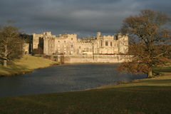 Raby Castle Durham stock image