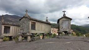 Raccards в севере Португалии Стоковые Изображения