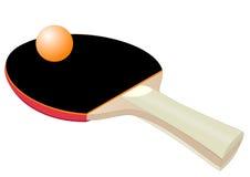 Racchetta per ping-pong Fotografia Stock Libera da Diritti