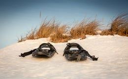 Racchette da neve Fotografia Stock