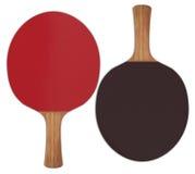 Racchette di ping-pong Immagini Stock Libere da Diritti