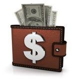 Raccoglitore con soldi royalty illustrazione gratis