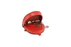 Raccoglitore rosso Fotografia Stock Libera da Diritti