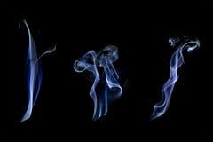 Raccolta bianca del fumo Immagine Stock