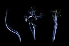 Raccolta bianca del fumo Fotografia Stock Libera da Diritti
