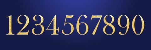 Raccolta brillante delle cifre royalty illustrazione gratis