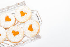 Raccolta casalinga del biscotto di Natale Immagine Stock