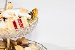 Raccolta casalinga del biscotto di Natale Immagine Stock Libera da Diritti
