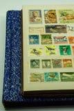 Raccolta d'annata del francobollo Fotografia Stock