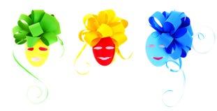 Raccolta decorativa delle uova di Pasqua Immagine Stock
