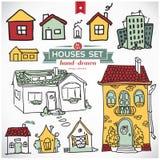 Raccolta degli appartamenti domestici Illustrazione di Stock
