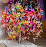 Raccolta degli archi e dei nastri colorati Fotografie Stock Libere da Diritti