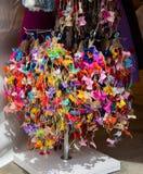 Raccolta degli archi e dei nastri colorati Fotografie Stock