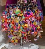 Raccolta degli archi e dei nastri colorati Immagine Stock Libera da Diritti