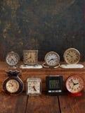 Raccolta degli orologi d'annata Immagine Stock Libera da Diritti