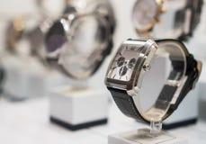 Raccolta degli orologi moderni Immagine Stock
