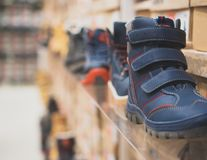 Raccolta dei bambini differenti di inverno Fotografia Stock Libera da Diritti