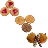 Raccolta dei biscotti Fotografia Stock