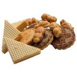 Raccolta dei biscotti Fotografie Stock