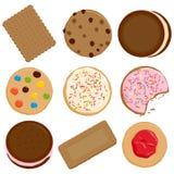 Raccolta dei biscotti royalty illustrazione gratis