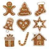 Raccolta dei biscotti di Natale Fotografia Stock