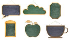 Raccolta dei bordi di legno per Fotografia Stock