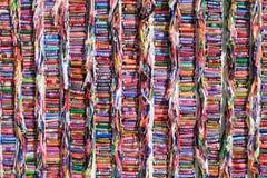 Raccolta dei braccialetti di nome Fotografia Stock Libera da Diritti