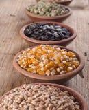 Raccolta dei cereali Fotografie Stock Libere da Diritti
