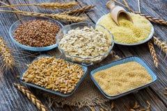 Raccolta dei cereali Immagine Stock Libera da Diritti