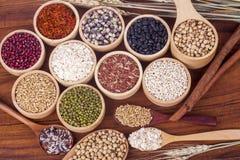 Raccolta dei cereali Immagini Stock