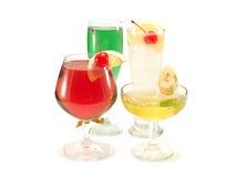 Raccolta dei cocktail Fotografie Stock Libere da Diritti