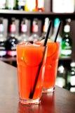 Raccolta dei cocktail - brezza di mare Fotografia Stock Libera da Diritti