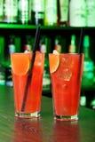Raccolta dei cocktail - brezza di mare Fotografie Stock