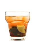 Raccolta dei cocktail - Caipifruta Fotografia Stock