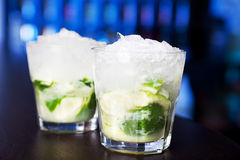 Raccolta dei cocktail - Caipirinha Immagine Stock