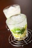 Raccolta dei cocktail - Caipirinha Fotografie Stock