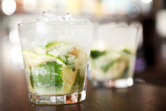 Raccolta dei cocktail - Caipirinha Immagini Stock Libere da Diritti