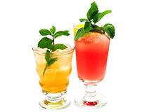 Raccolta dei cocktail - canadese e Mai Tai Fotografie Stock