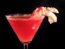 Raccolta dei cocktail - cocktail con i gamberetti immagine stock