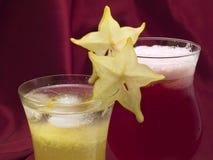 Raccolta dei cocktail - cocktail della carambola Immagine Stock