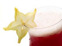 Raccolta dei cocktail - cocktail di Starfruit Fotografie Stock